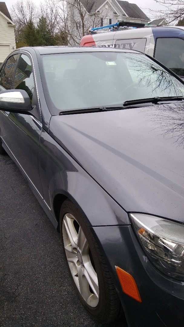 Bethlehem, PA - Replaced windshield on Mercedes for a customer at his home