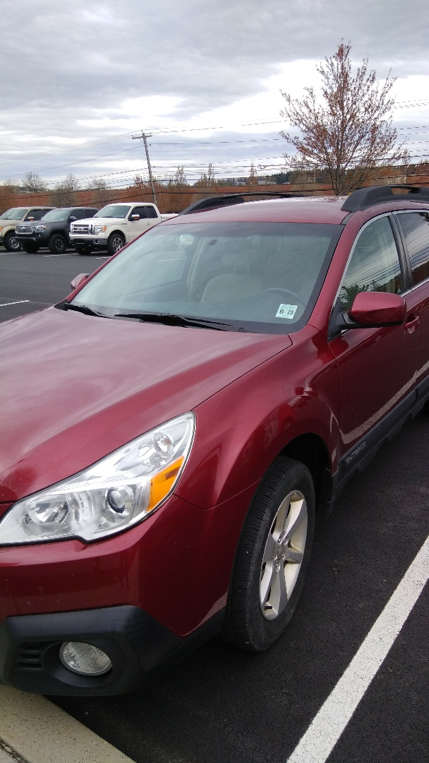 Allentown, PA - Replaced windshield on Subaru Outback for a customer at his work for the exact price quoted