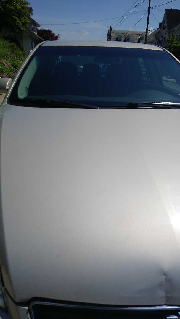 Northampton, PA - Replaced windshield on Chevy Impala for a customer at his home at the exact price quoted