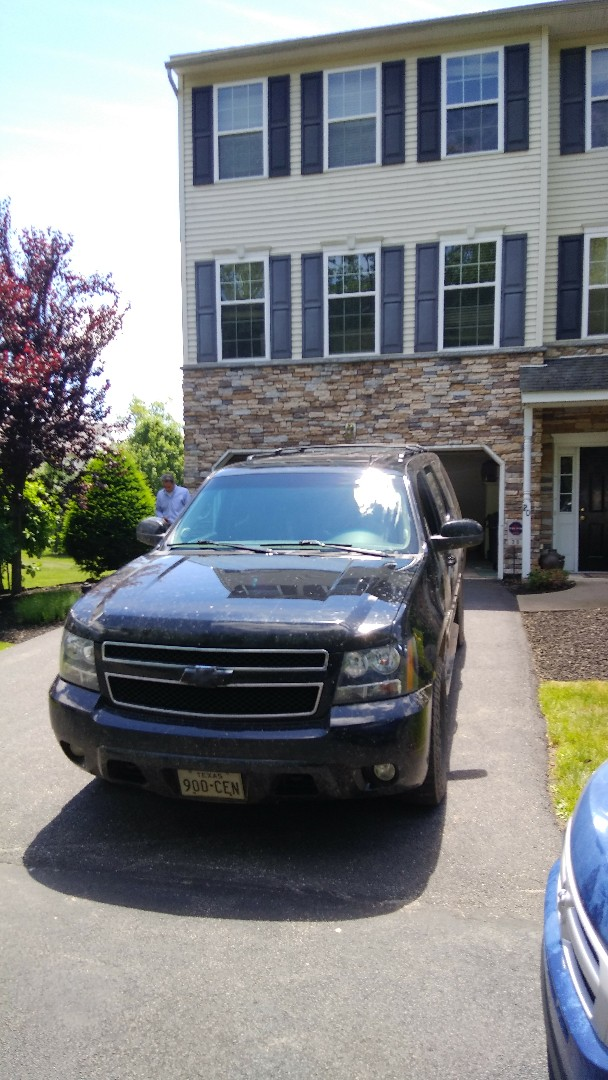 Replaced windshield on Chevy Suburban for a customer at his home for the exact price quoted