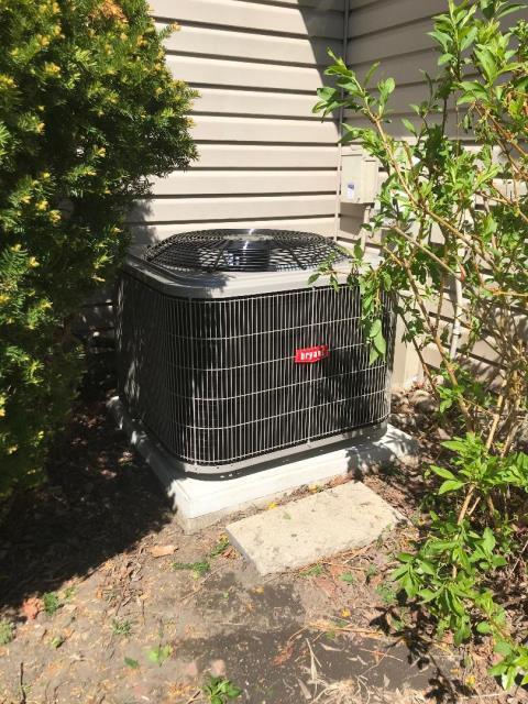 Hoffman Estates, IL - Installed Bryant air conditioner