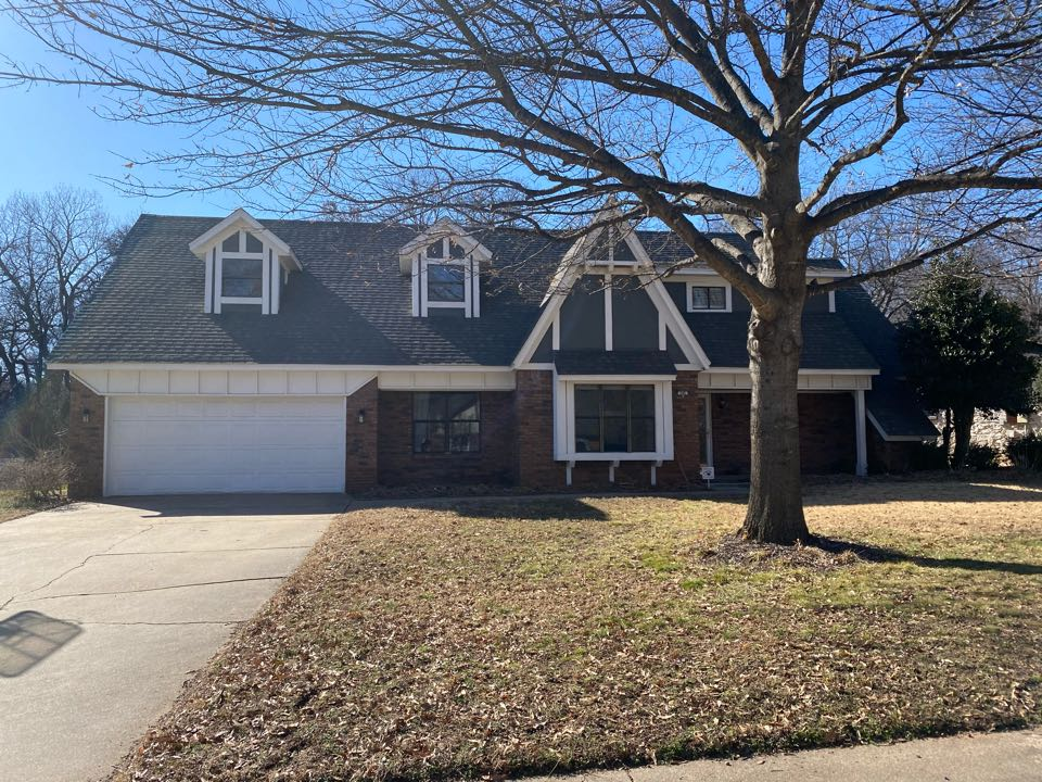 Broken Arrow, OK - Adding Chimney Cricket to prevent leaks. New flashing and counter flashing as well.