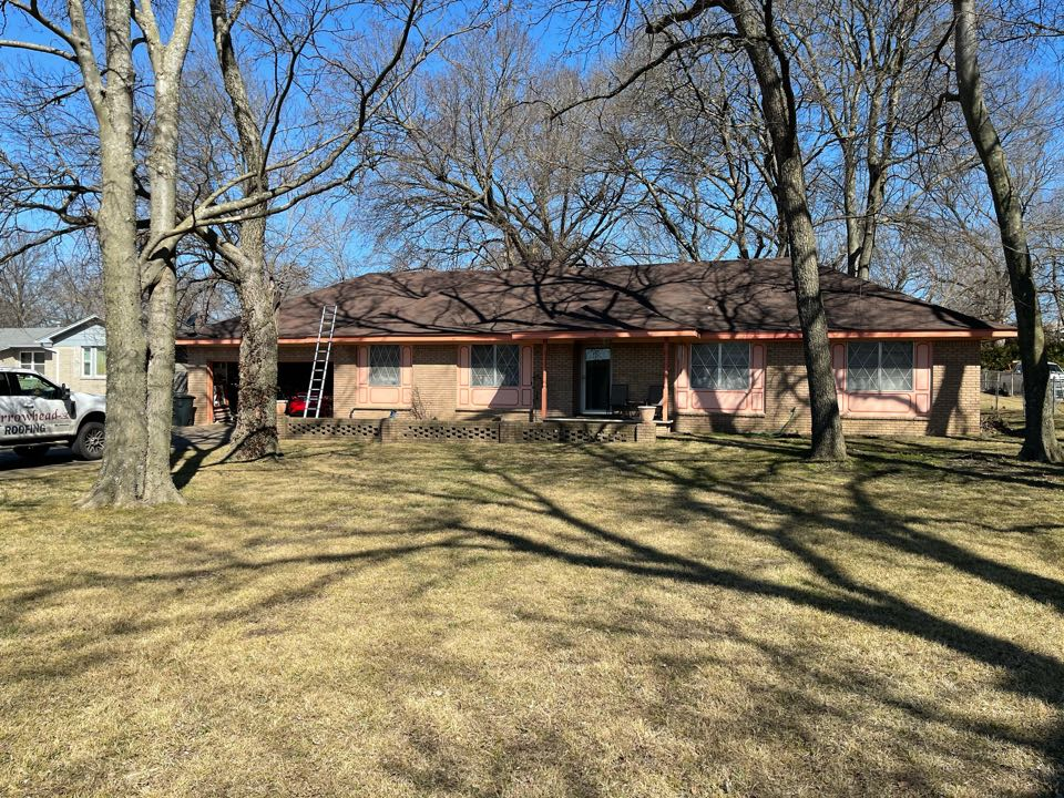 Catoosa, OK - Arrowhead Roofing is doing a free roof inspection on this home in Catoosa, OK.  If you would like your roof inspected, call Arrowhead Roofing at 918-743-9257 and ask for Andy.