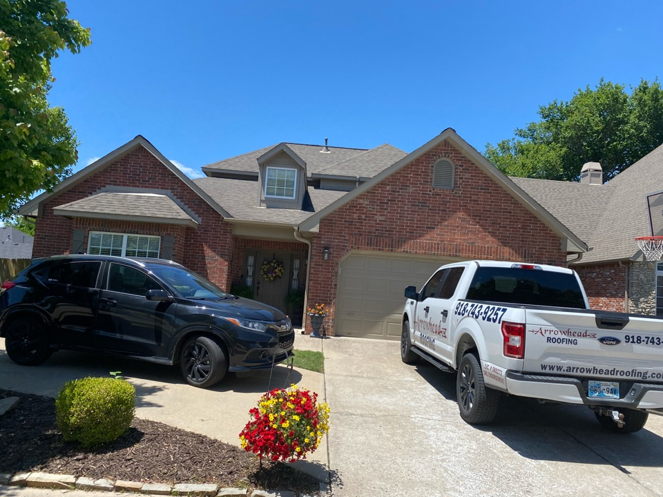Owasso, OK - Roof Inspection for possible hail damage from recent storm here in Owasso. Repeat customer.