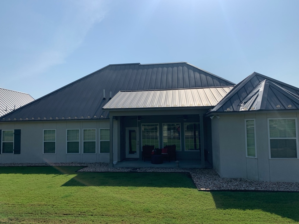 Tulsa, OK - Arrowhead Roofing is inspecting this roof in Tulsa, Oklahoma for inadequate ventilation. If you would like a free roof inspection, contact Arrowhead Roofing today.
