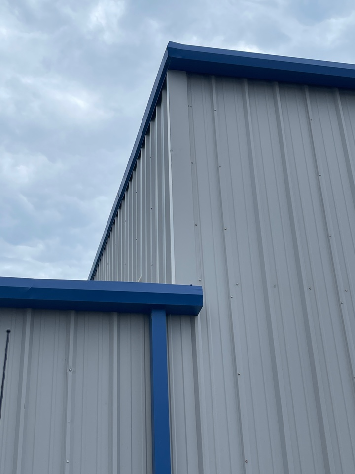 Tulsa, OK - Metal roof leak at transition in Tulsa. Call Arrowhead roofing for your free estimate.