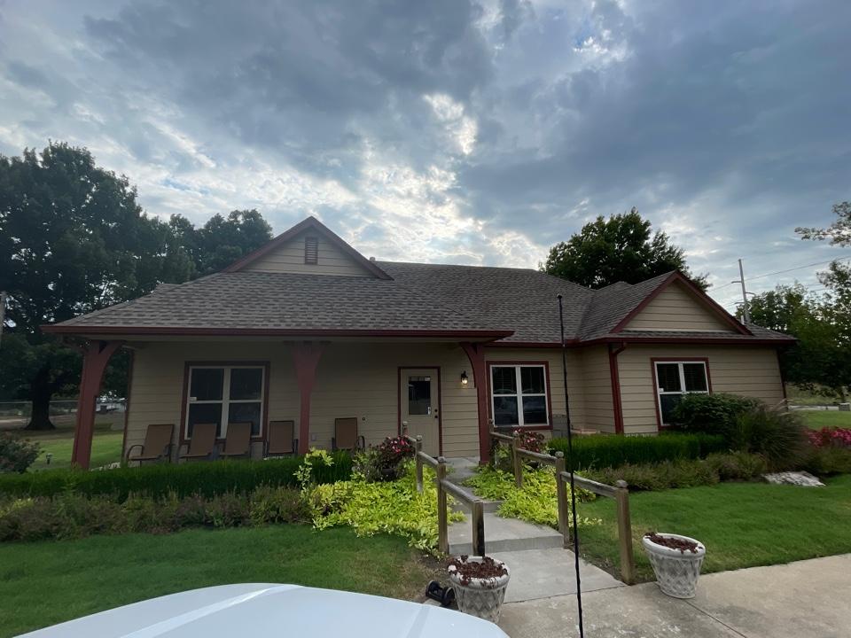 Bixby, OK - Ridge repair in Tulsa. Call Arrowhead Roofing for a free estimate.
