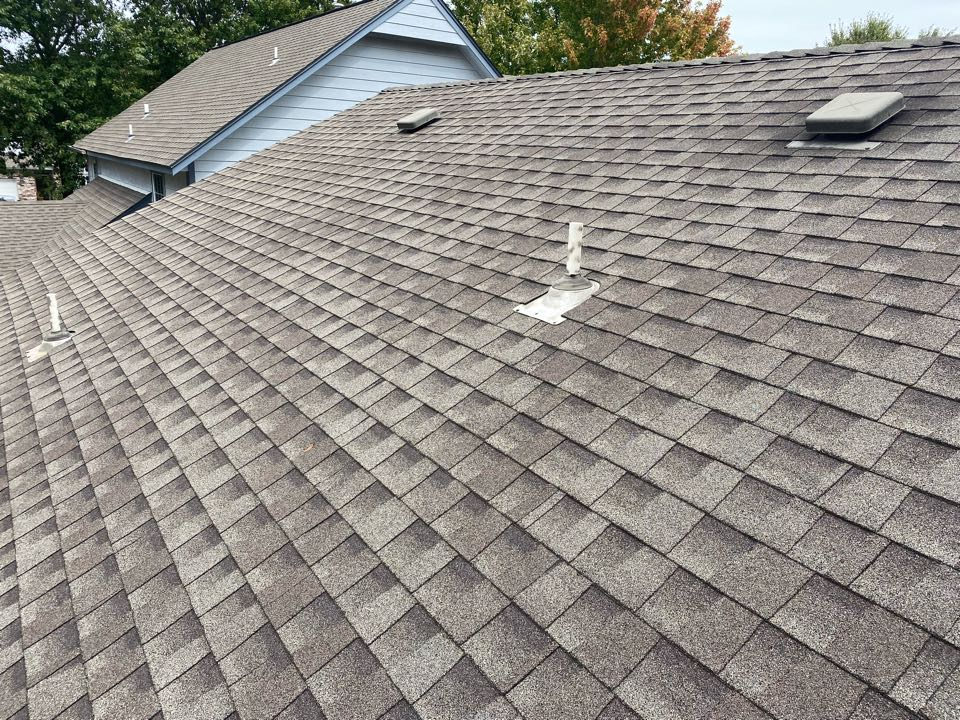 Tulsa, OK - Roof inspection to check condition of roof and for possible hail damage.