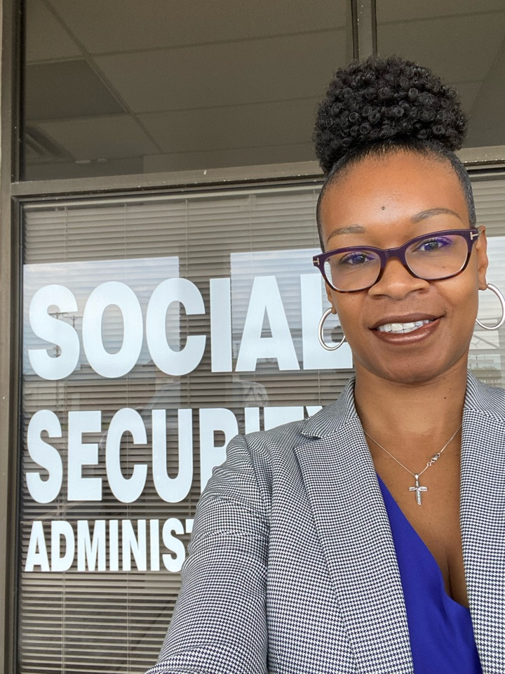 West Memphis, AR - Hand delivering clients' documents to my old stomping ground! West Memphis Social Security Administration.
