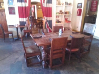 Mumford Restoration Looking At Some Historic Irish Pub Furniture In Southern  Pines, NC While Enjoying