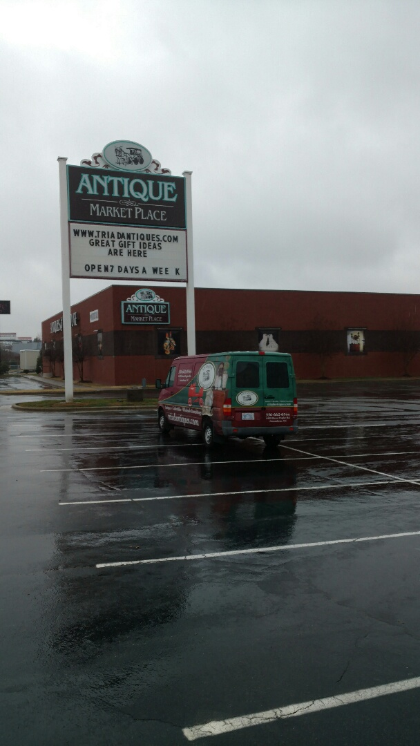 Greensboro, NC - Here at Antique Market Place.  We repair and restore all types of antiques, including tables, desks, secretaries, sideboards, chairs and more.  We even restore and repair museum-quality antiques.  We will even carefully pickup and deliver your antique pieces to you, no matter where you are in Guilford county or Triad!!