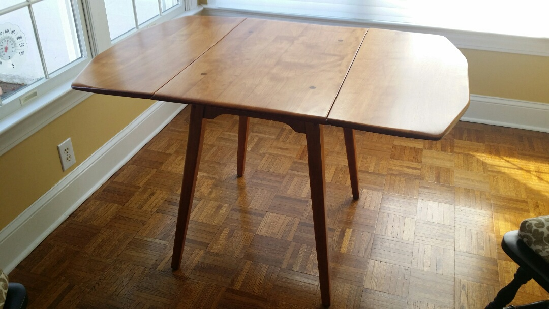 Fearrington, NC - Full Furniture restoration of this great Maple Dropleaf table.