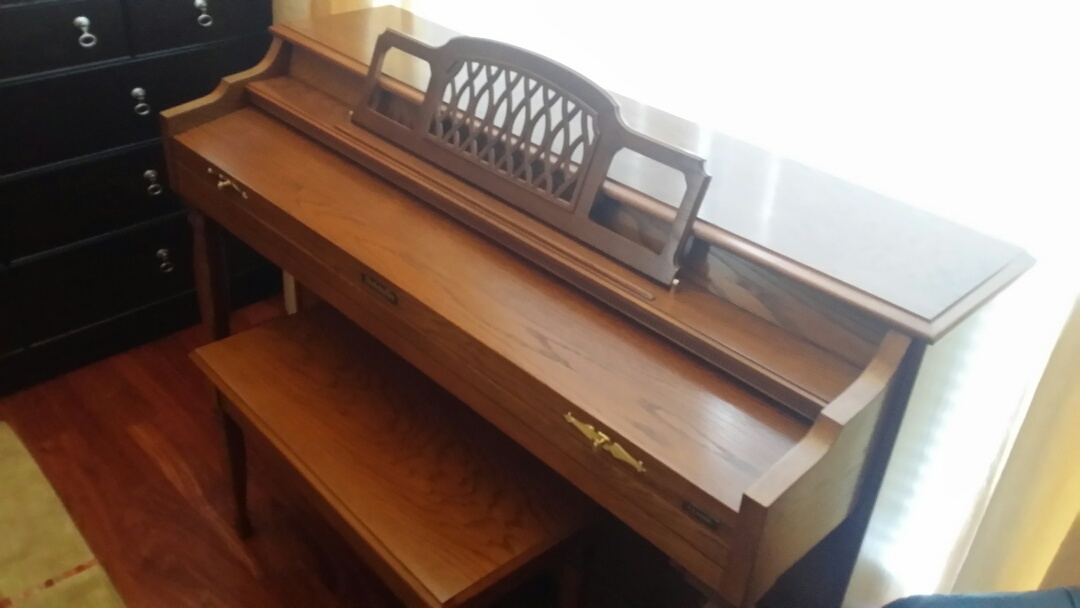 Cary, NC   Total Restoration Of This Family Piano.