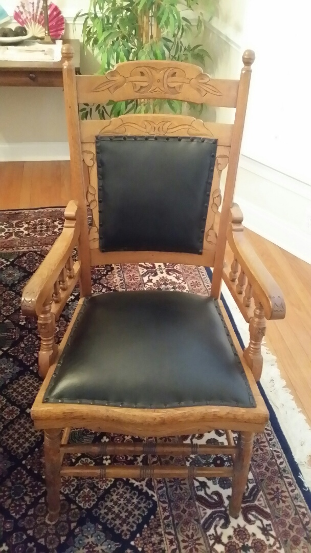 Put new padding in dining chairs.