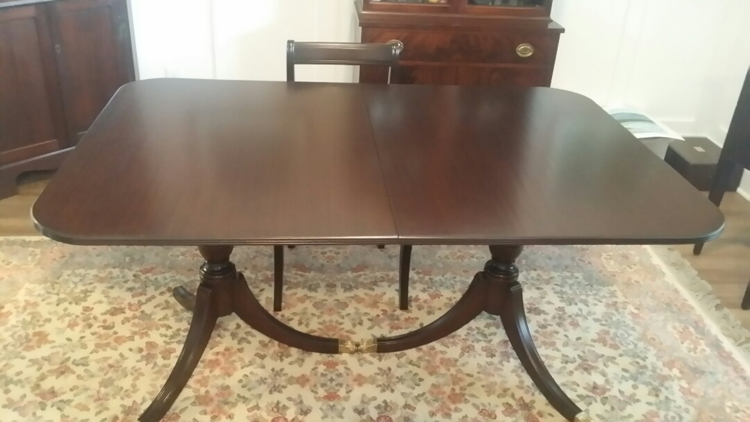 Sanford, NC - Refinished dining table