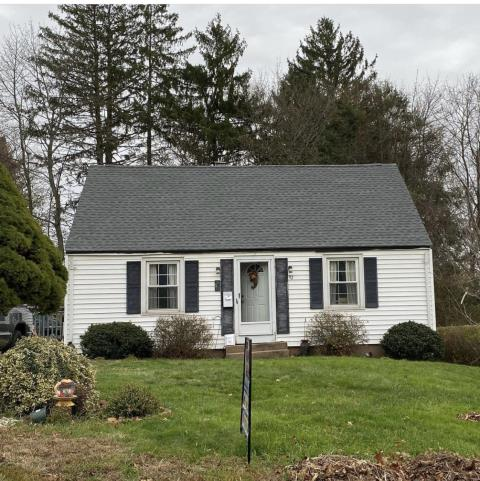 Middletown, CT - Full roof replacement using Pewter gray GAF Timberline HD lifetime shingles