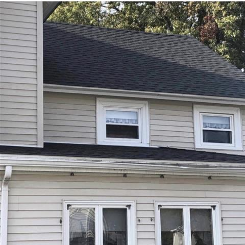 Portland, CT - Roof replacement With GAF Timberline HDZ shingles in color: Charcoal