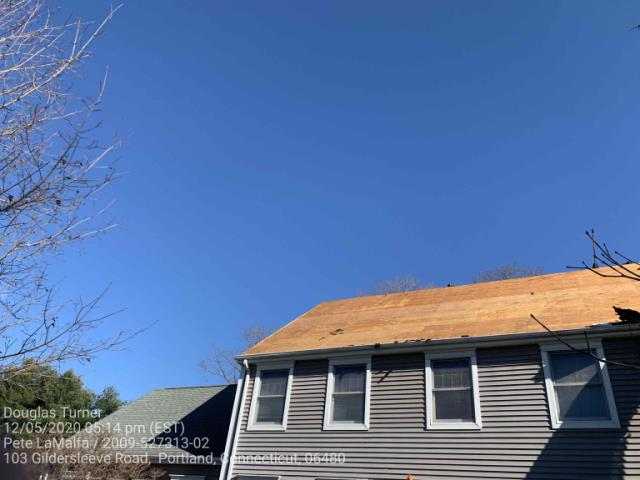 Portland, CT - Roof replacement