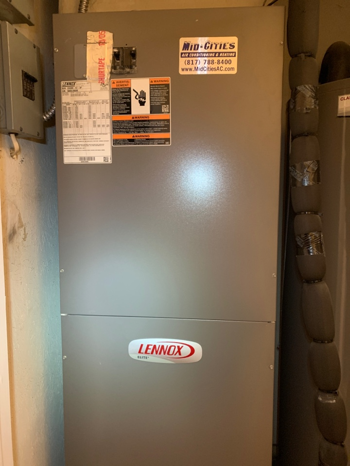 Fort Worth, TX - Heat tuneup Lennox system