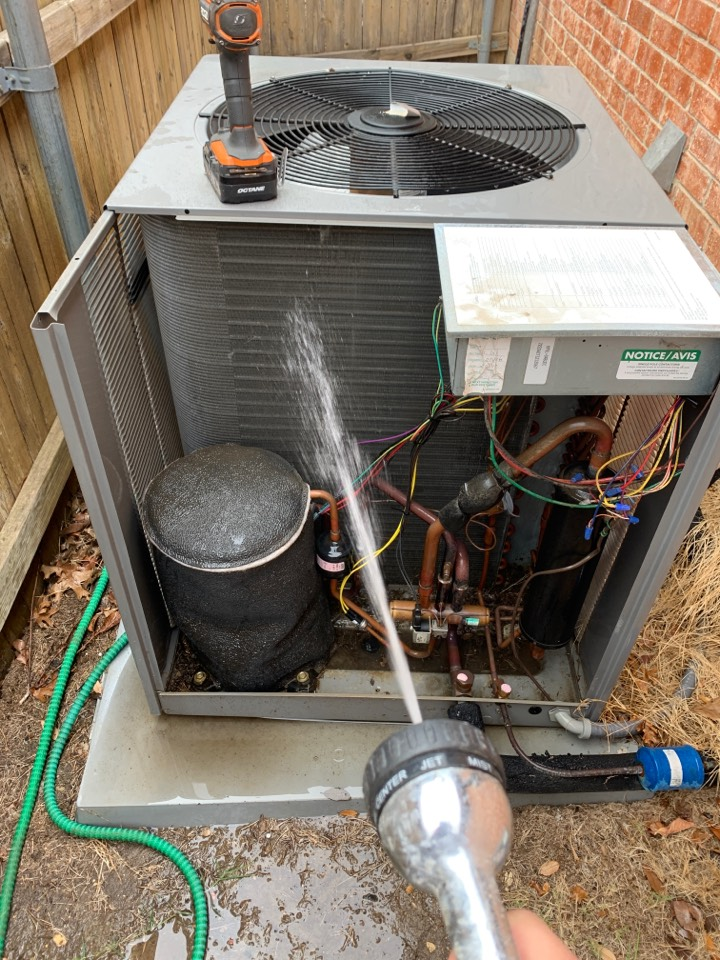 Fort Worth, TX - Heat tuneup Rheem heatpump system