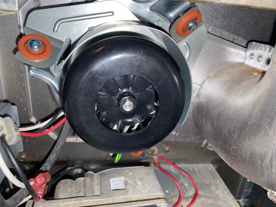 Douglasville, GA - Installed inducer motor
