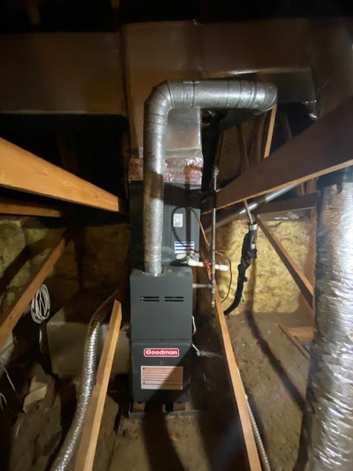 Dallas, GA - Installed piston and cleared drain line