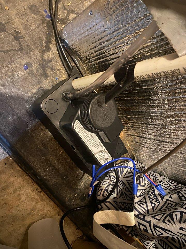 Dallas, GA - Condensate pump installation for a loyal customer!