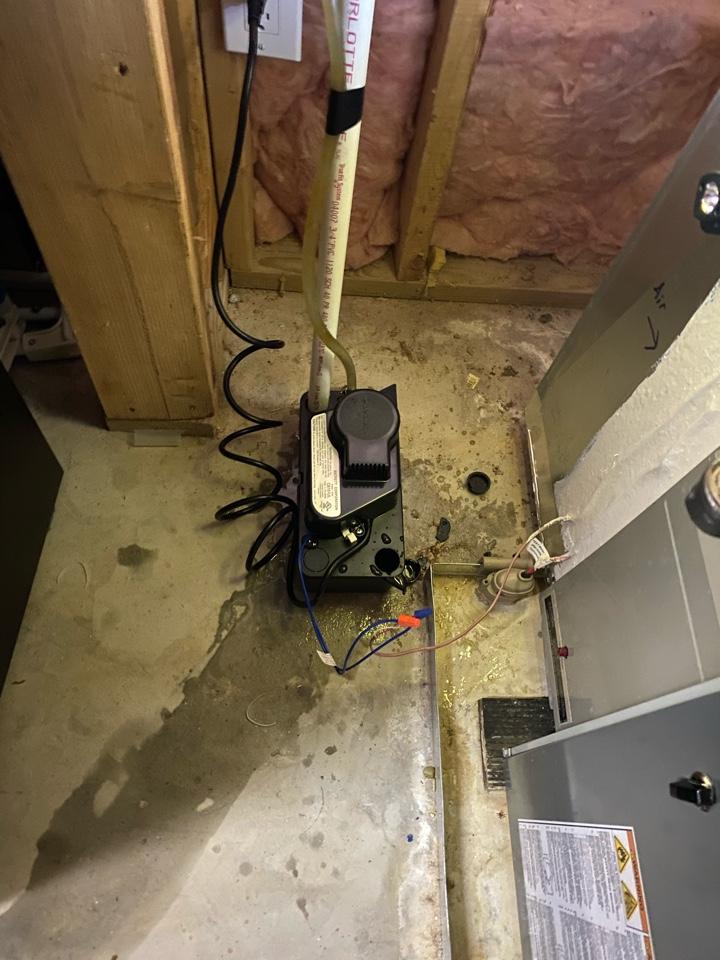 Marietta, GA - Installed new condensate pump