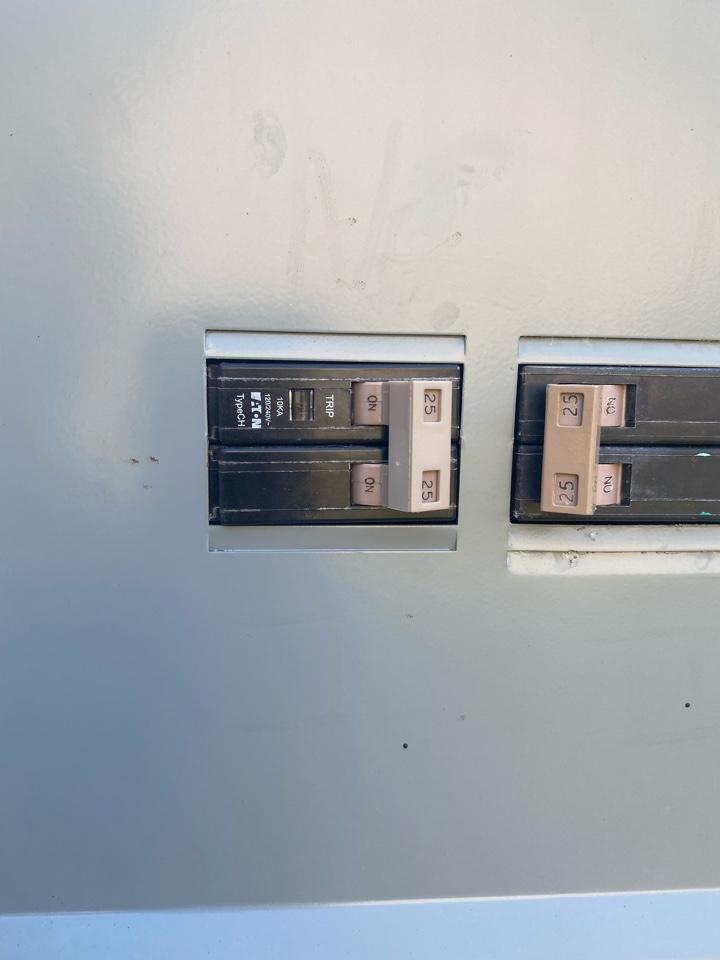 Powder Springs, GA - Installed 25 amp double pole breaker.