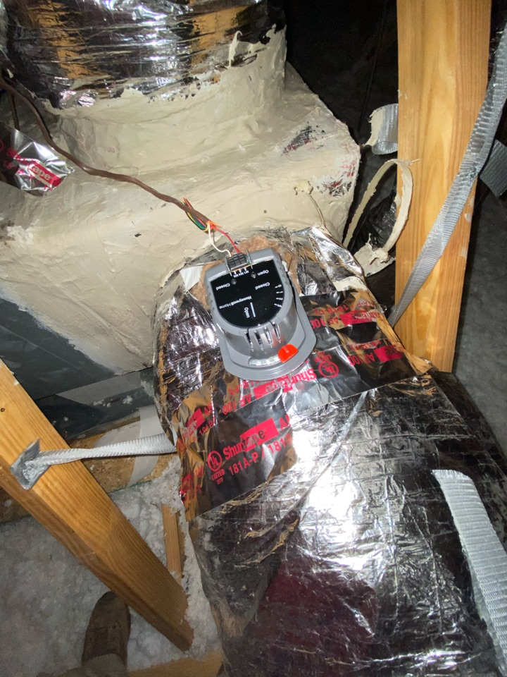 Douglasville, GA - Replaced damper motor and changed a few wires and the system is cooling as it should at this time.