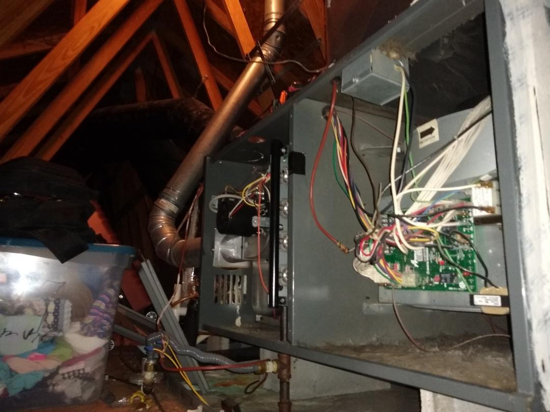 Huntersville, NC - Amana insufficient heating gas furnace repair