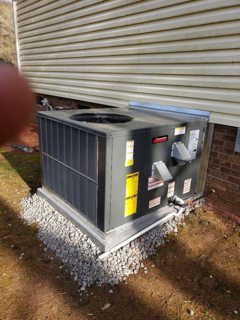 Harrisburg, NC - Amana Heatpump Installation