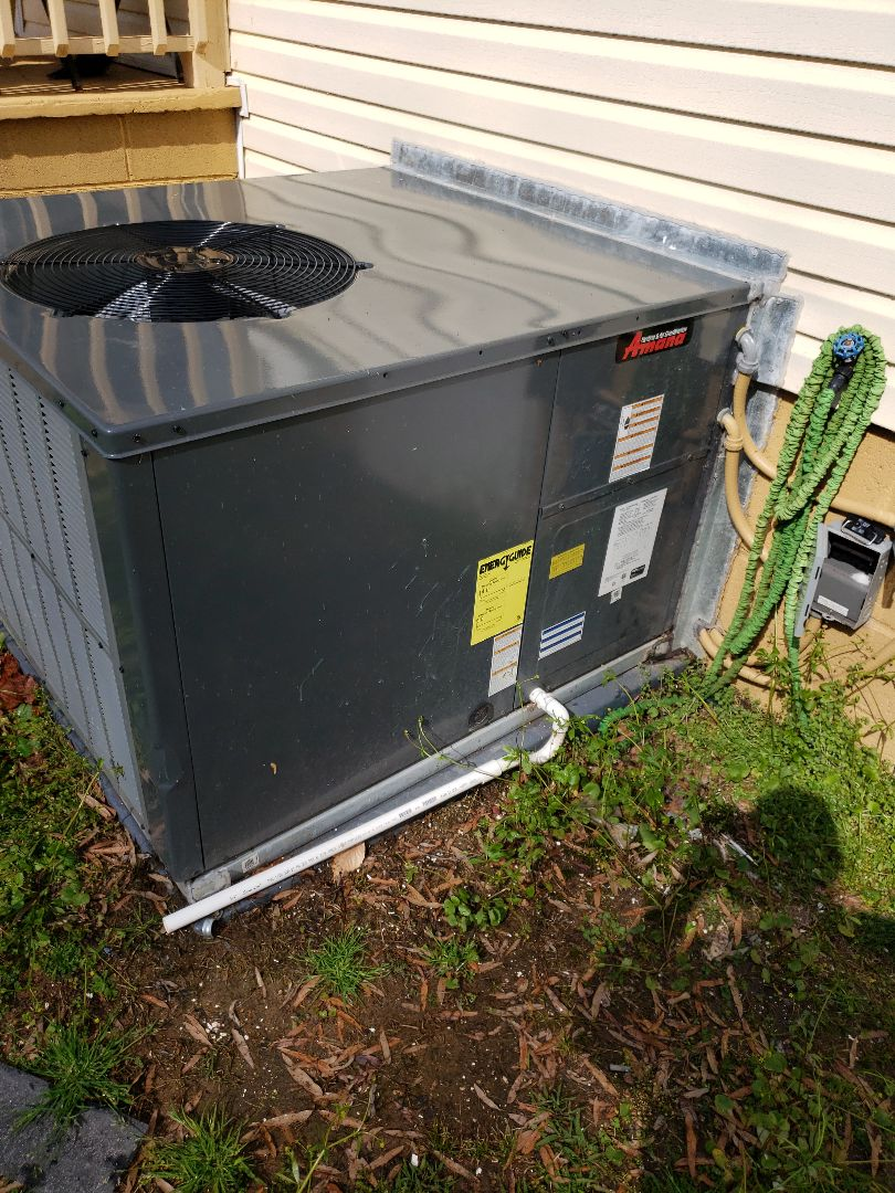Kannapolis, NC - Amana Heatpump Package Unit Tuneup