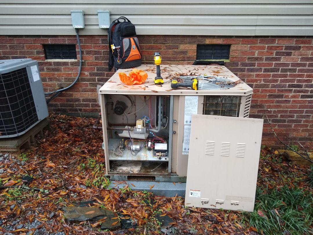 Concord, NC - York gas pack heating maintenance