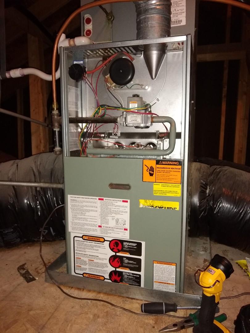 Concord, NC - Rheem gas furnace tune up