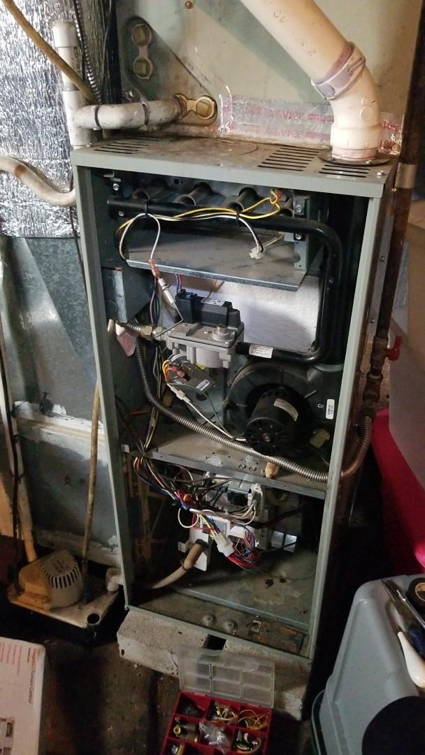 Charlotte, NC - Trane Gas Furnace Heat Repair