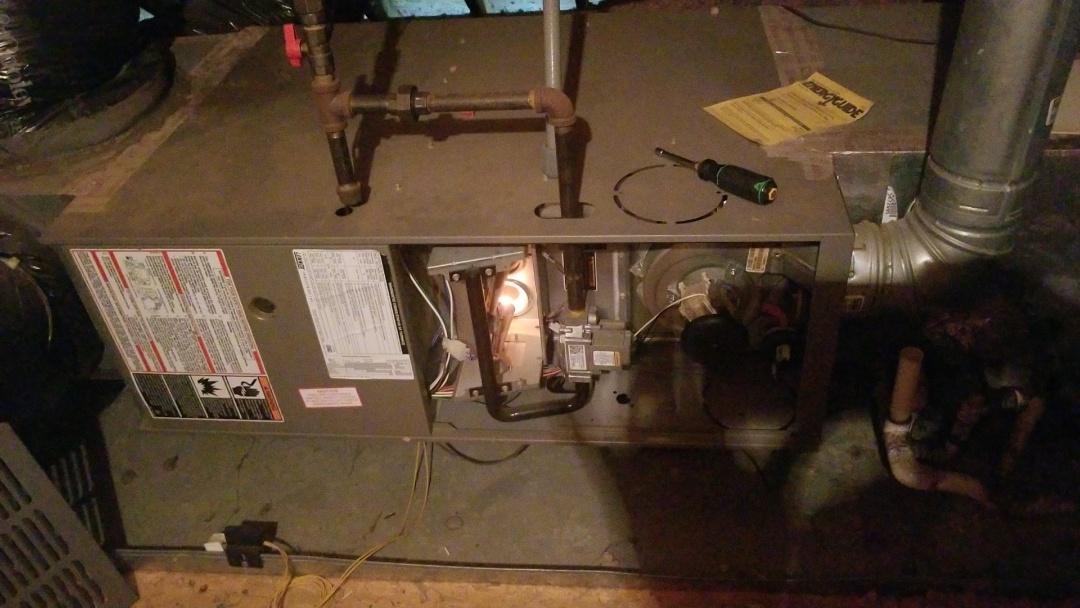 Huntersville, NC - Lennox Gas Furnace Repair