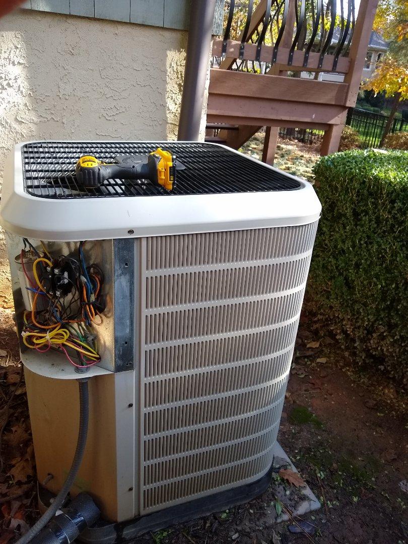 Mooresville, NC - Heat pump maintenance
