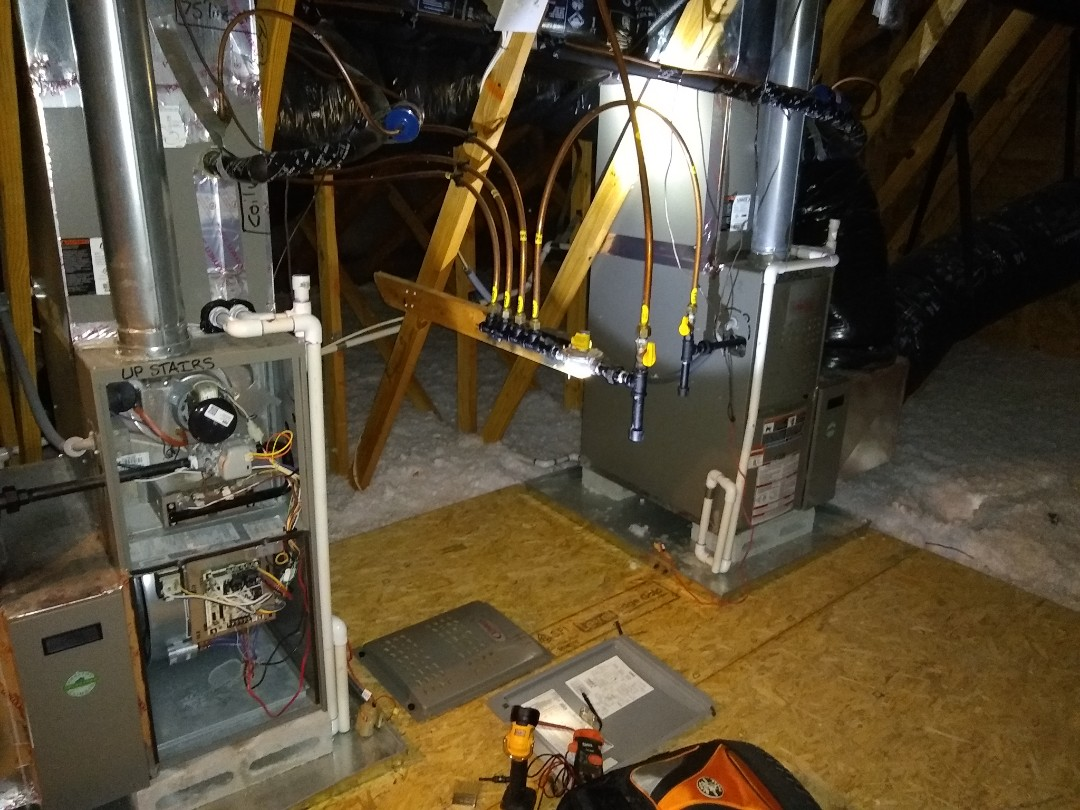 Huntersville, NC - Lennox gas furnace tune up