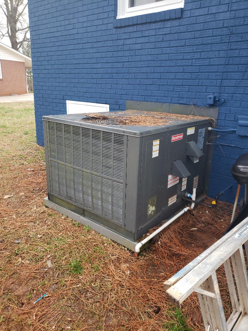 Goodman Gas Pack Heat Repair