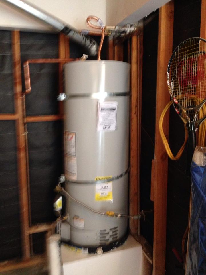 Wildomar, CA - Replacing 50 gallon water heater