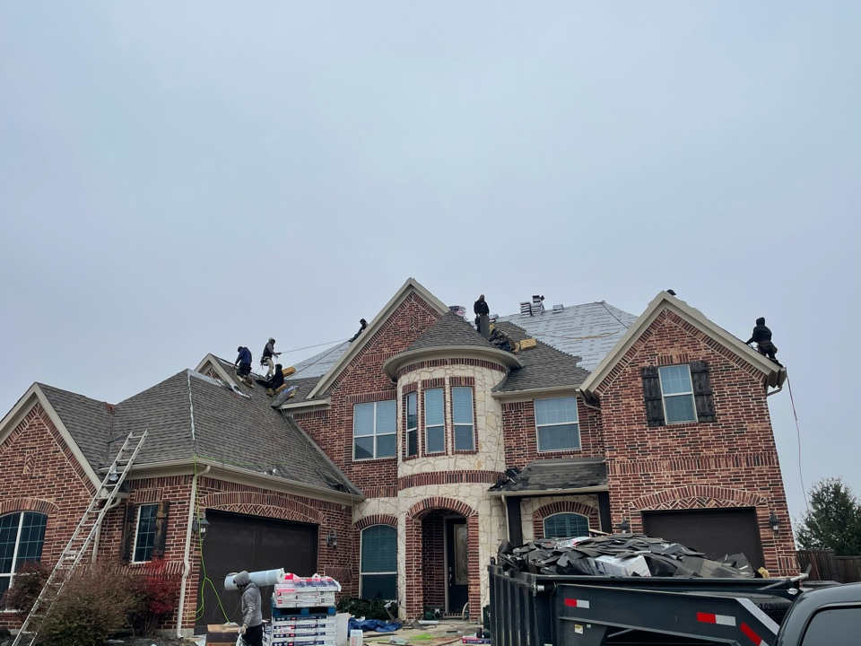 Frisco, TX - 70 square roof replacement in Frisco.