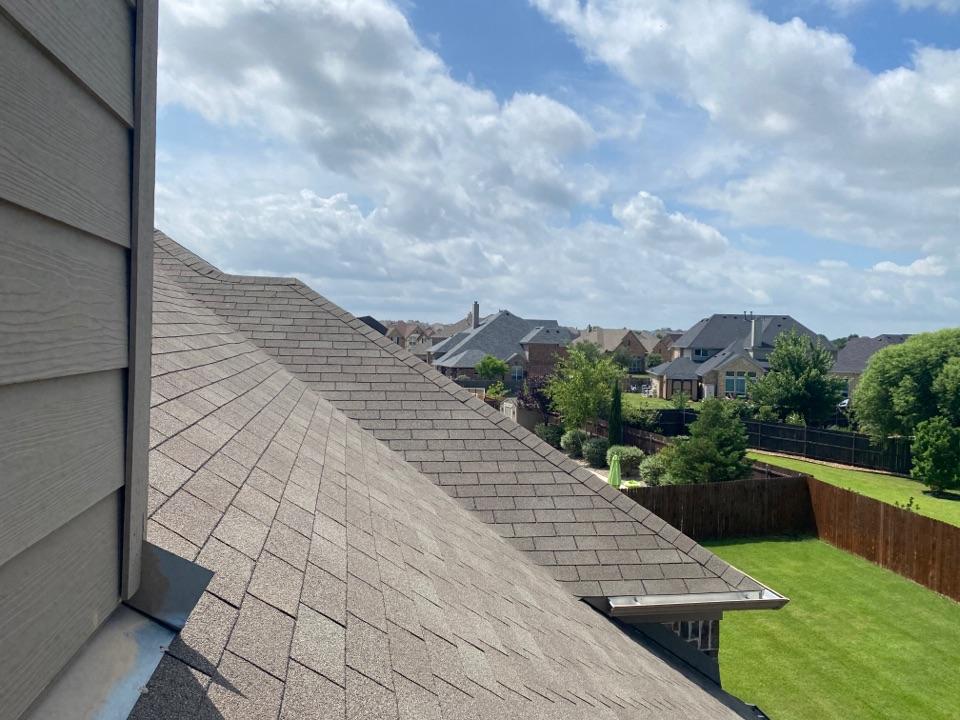 Little Elm, TX - Little Elm Texas Roof Inspection, Little Elm Roof Replacement, Hail damage, granular hits, damage