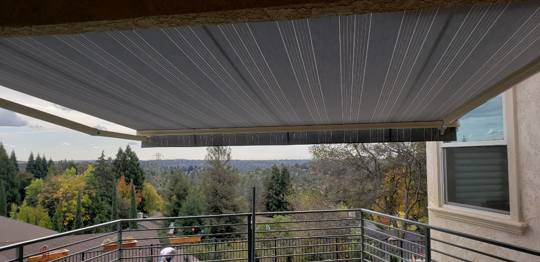 Turlock, CA - Serviced 2 Sunesta Retractable Awnings,  cleaned and adjusted.