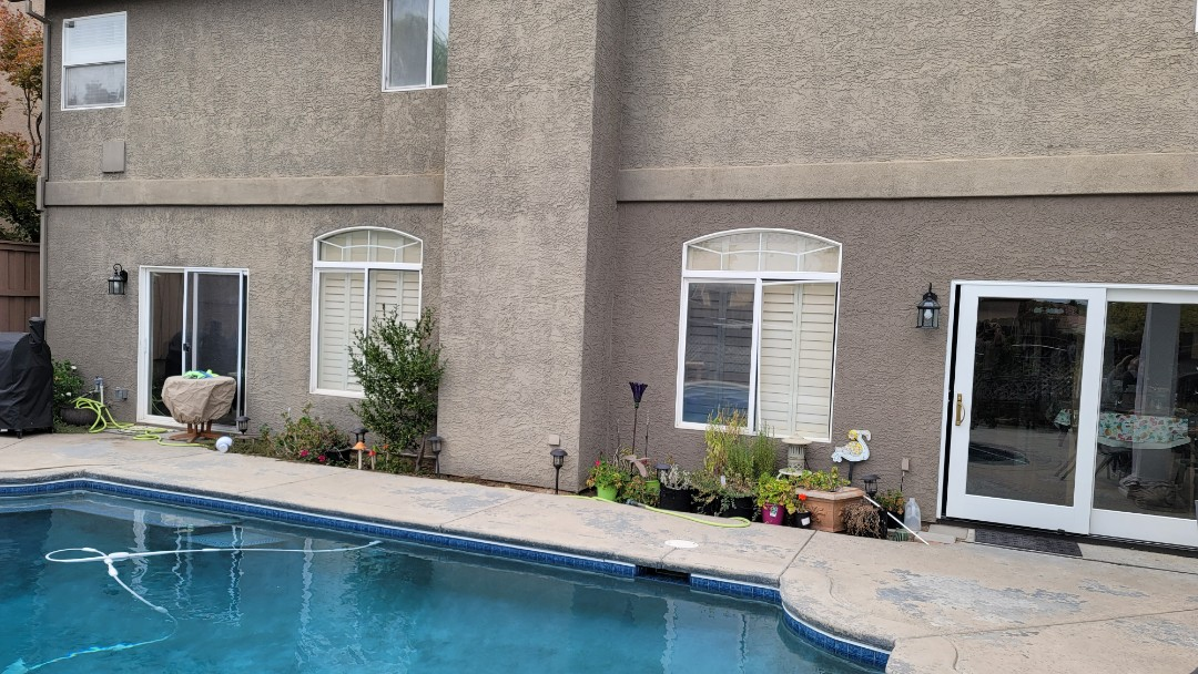 Roseville, CA - Home in Granite Bay,  nice pool but lacking shade. A Sunesta Retractable Awnings will look great and provide shade to enjoy the patio and pool.