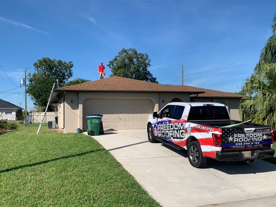 Cape Coral, FL - Shingle roof inspection