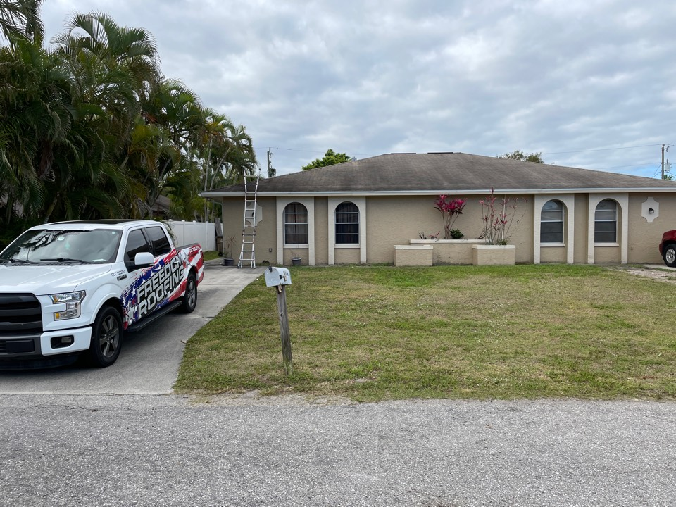 Cape Coral, FL - Flat roof replacement