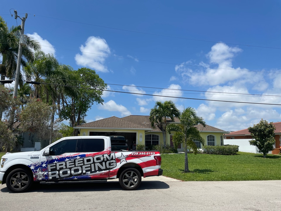 Cape Coral, FL - Another shingle reroof starting soon. Call for your free estimates today.