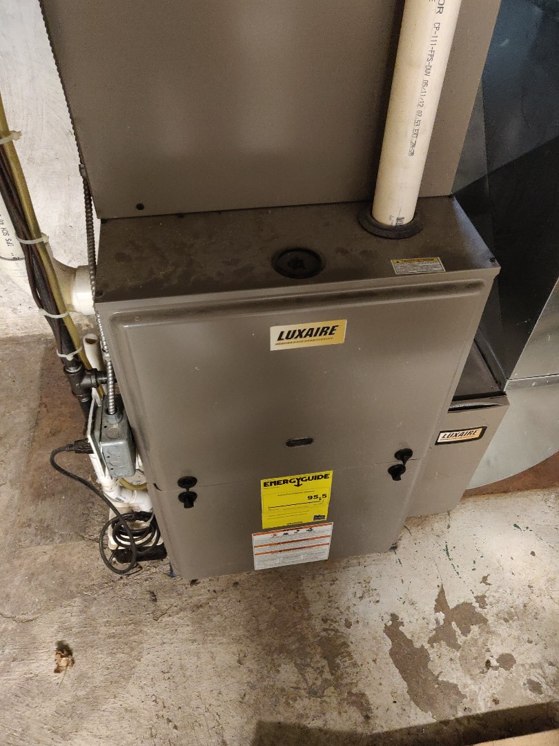 Battle Creek, MI - No heat repair on a Luxaire. Replace HSI.