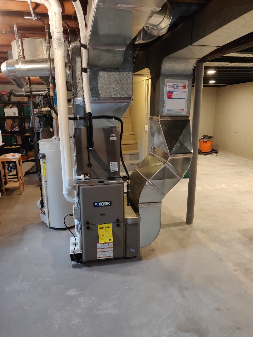 Battle Creek, MI - Install new Furnace with Central Ac York